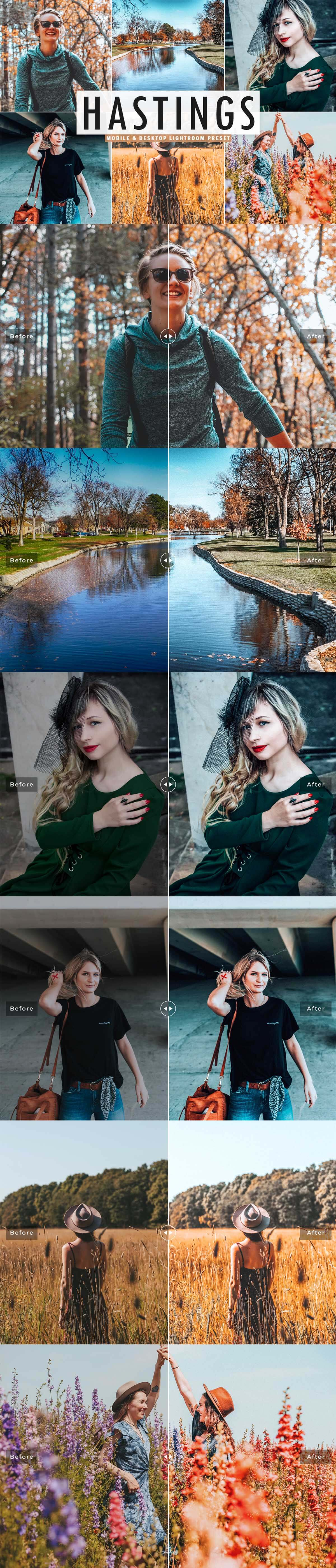 Free Hastings Lightroom Preset