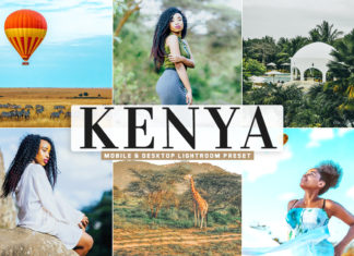 Free Kenya Lightroom Preset