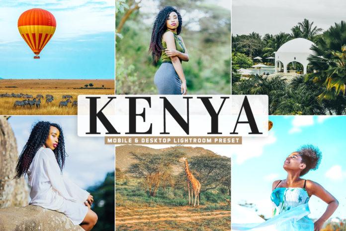 Free Kenya Lightroom Preset