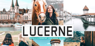 Free Lucerne Lightroom Preset