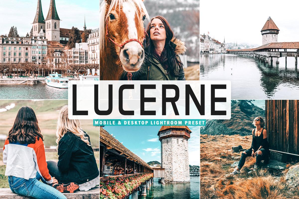 Free Lucerne Lightroom Preset