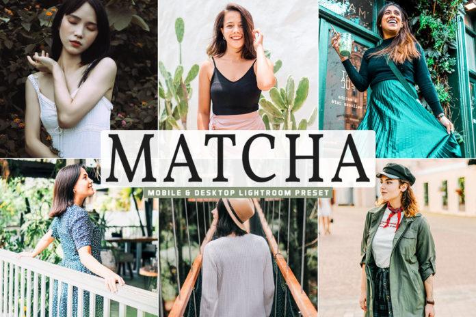 Free Matcha Lightroom Preset