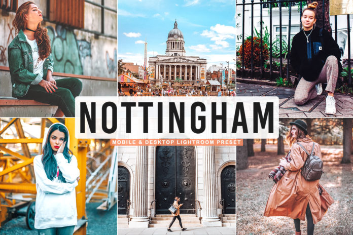 Free Nottingham Lightroom Preset
