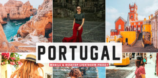 Free Portugal Lightroom Preset