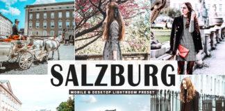 Free Salzburg Lightroom Preset