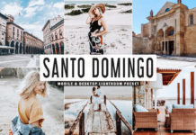 Free Santo Domingo Lightroom Preset