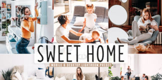 Free Sweet Home Lightroom Preset