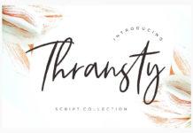 Free Thransty Script Font