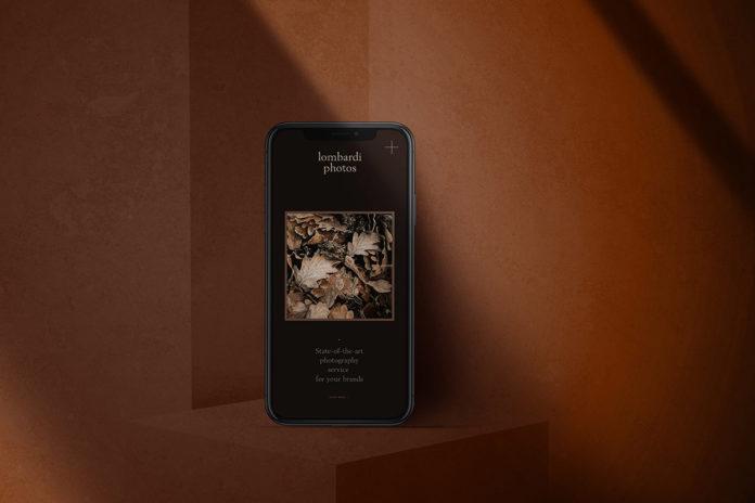 Free iPhone Dark Mode Mockup