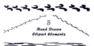 Free Handmade Elements Clipart