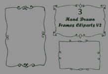 Free Handmade Frames Cliparts V2