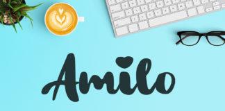 Free Amilo Brush Font