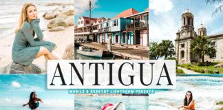 Free Antigua Lightroom Presets