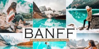 Free Banff Lightroom Presets