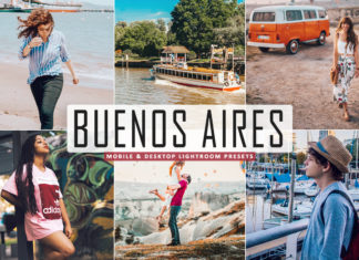 Free Buenos Aires Lightroom Presets