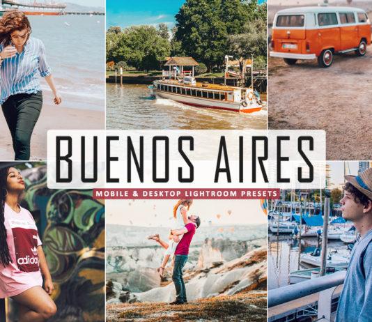 Free Buenos Aires Lightroom Presets