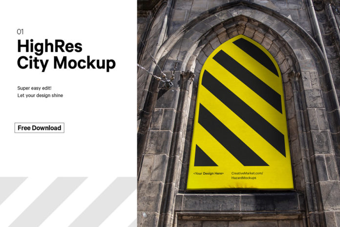 Free City Poster Mockup V3