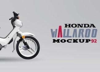 Free Honda Wallaroo Mockup