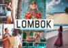 Free Lombok Lightroom Presets