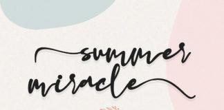 Free Summer Miracle Handwritten Font