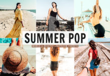 Free Summer Pop Lightroom Presets