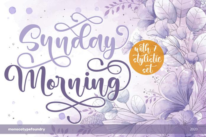 Free Sunday Morning Script Font