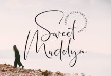 Free Sweet Madelyn Signature Font