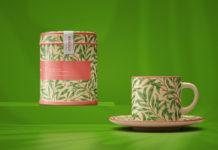 Free Tea Set Mockup