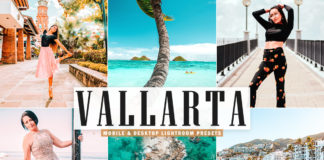 Free Vallarta Lightroom Presets