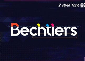 Free Bechtlers Sans Serif Font