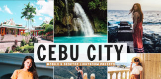 Free Cebu City Lightroom Presets