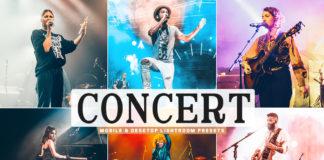 Free Concert Lightroom Presets