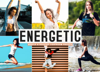 Free Energetic Lightroom Presets