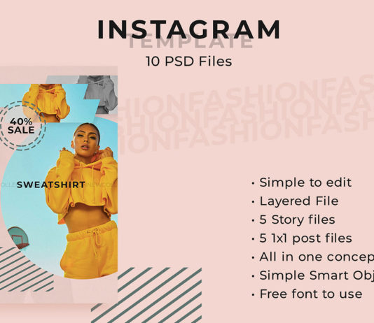 Free Fashion Posters Instagram Templates