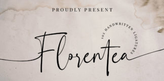 Free Florentea Luxury Script Font