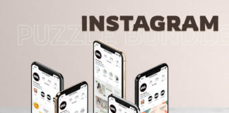 Free Instagram Puzzle Template