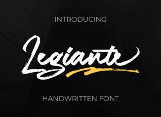 Free Legiante Handwritten Font