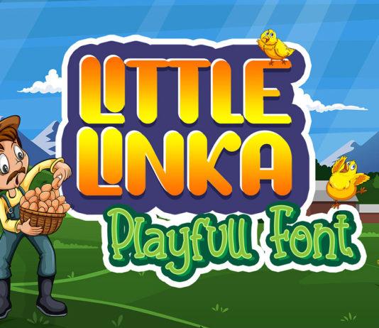 Free Little Linka Playfull Font