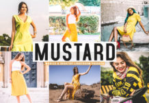 Free Mustard Lightroom Presets