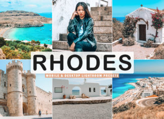 Free Rhodes Lightroom Presets