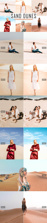 Free Sand Dunes Lightroom Presets