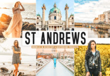Free St Andrews Lightroom Presets