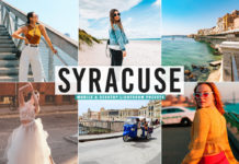 Free Syracuse Lightroom Presets