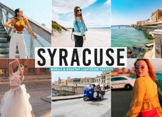 Free Syracuse Lightroom Presets