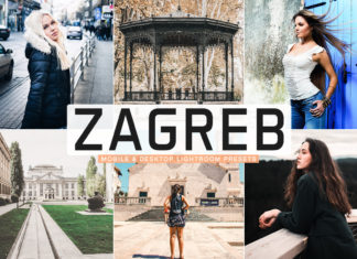 Free Zagreb Lightroom Presets