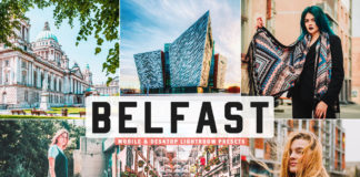Free Belfast Lightroom Presets