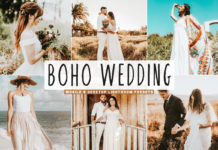 Free Boho Wedding Lightroom Presets