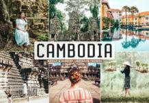 Free Cambodia Lightroom Presets