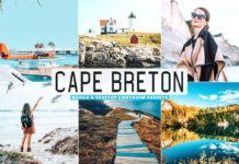 Free Cape Breton Lightroom Presets