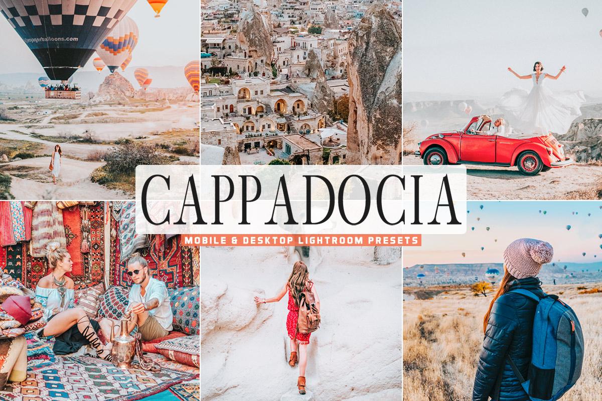 Free Cappadocia Lightroom Presets
